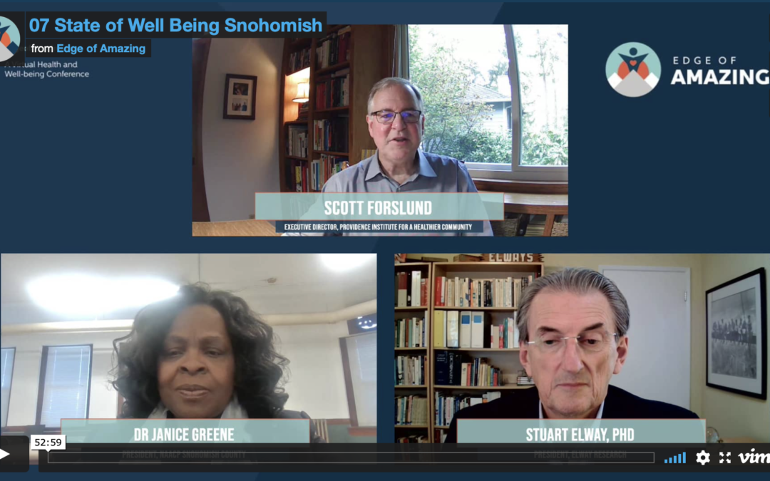 Watch: 2020 Snohomish County State of Well-being Report