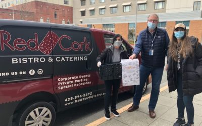 Red Cork Bistro Provides Meals to Vaccine Clinic Volunteers